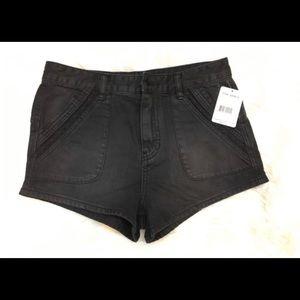 Black Free People shorts